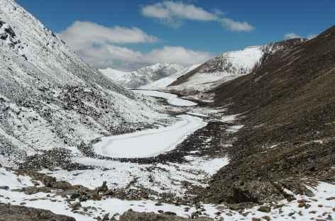 Vue vers le sud au Cheuteu La - Tibet -