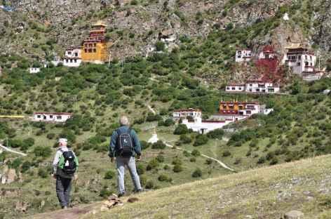 Balade autour de Drakyerpa - Tibet -
