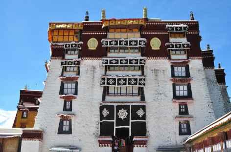 Au Potala, Lhassa - Tibet -