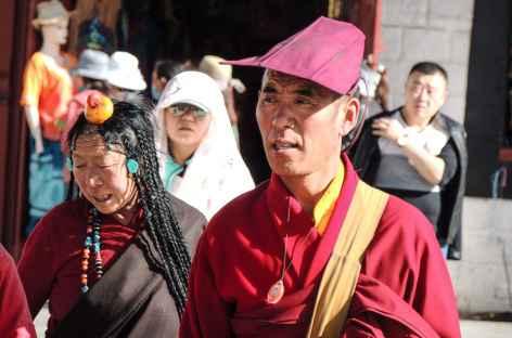 Moine à Lhassa - Tibet -
