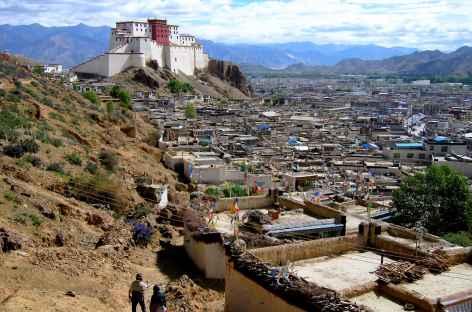 Potala et village de Shöl - Tibet -