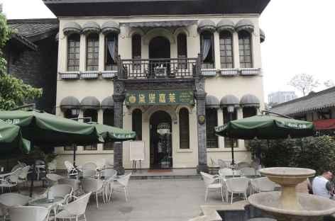 Vieux  quartier de Chengdu - Chine -