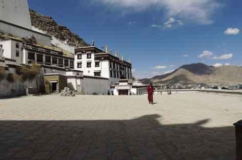 Au monastère de Shigatsé -