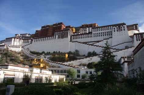 le Potala à Lhassa - Tibet -