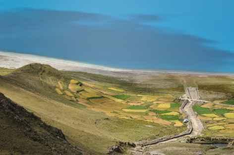 Descente sur le Yamdrok - Tibet -