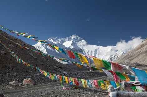 Everest depuis Rongbuk- Tibet -