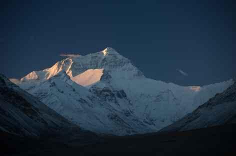 Lever de soleil sur l'Everest- Tibet -