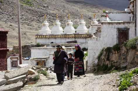 Village de Tsurphu - Tibet -