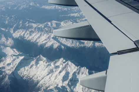 Vol entre Shigatse et Chengdu - Tibet -