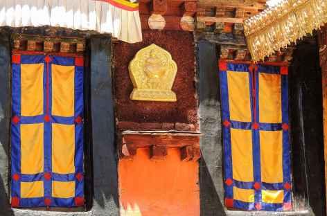 Détail du Jokhang - Tibet -