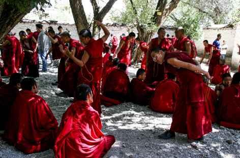 Monastère de  Séra- Tibet -