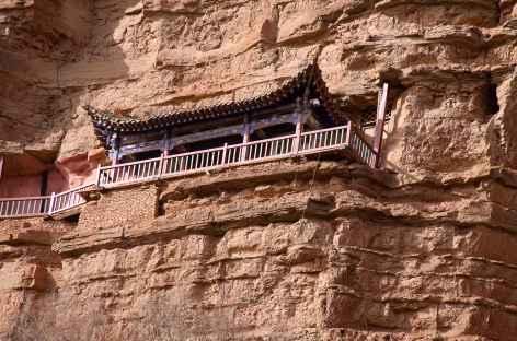 Temple suspendu à Xining -