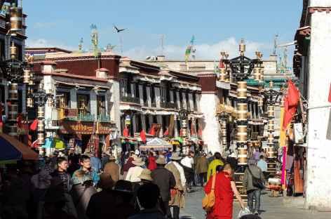 Sur le Barkhor - Tibet -