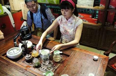 Cérémonie du thé Chengdu - Chine -
