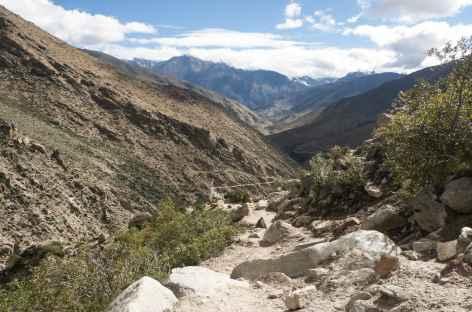 Retour vers les villages - Tibet -