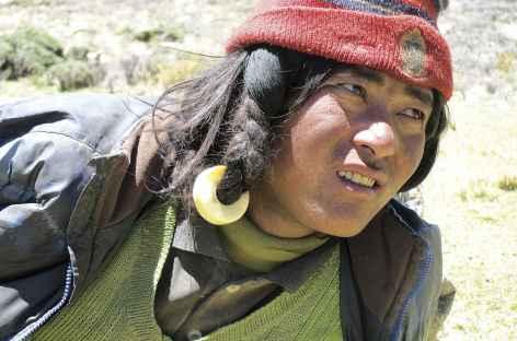 Nomade à l'écoute - Tibet -
