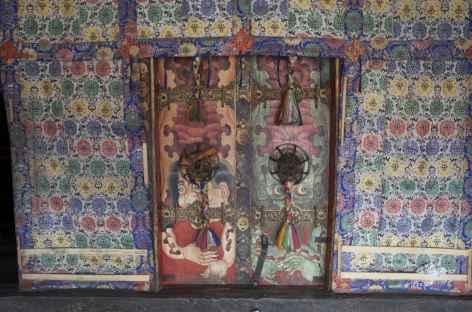 Fresques du Nechung - Lhassa - Tibet -