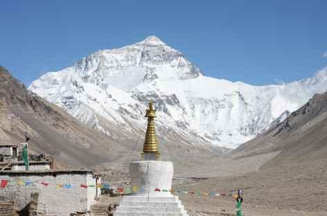 Everest depuis Rongbuk - Tibet -