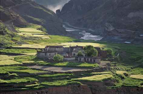 Village du tibet - Tibet -