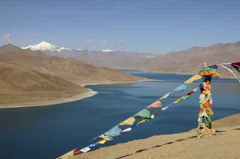 Vue sur le Yamdrok - Tibet -