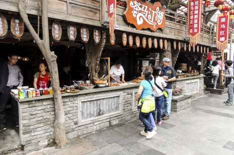 Quartier ancien de Chengdu - Chine -