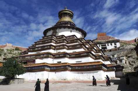 Khumbum de Gyantse - Tibet -