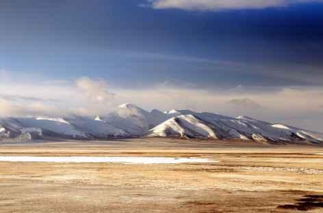 Vue du Train du ciel - Tibet -