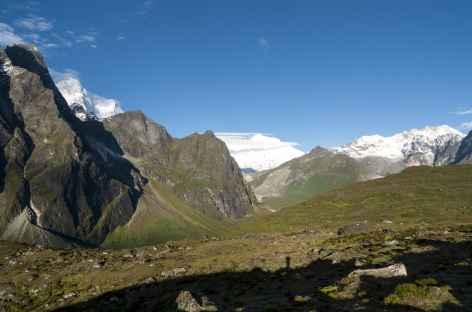 Vue du Sha U La - Tibet -