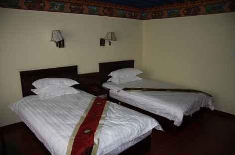 Exemple de chambre à Lhassa - Tibet -