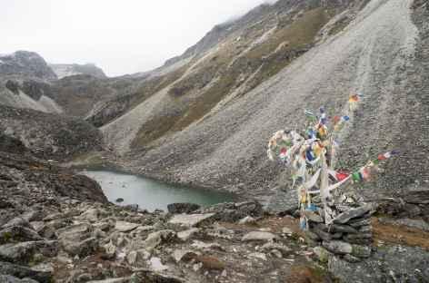 Au lac Dramnye Tso - Tibet -