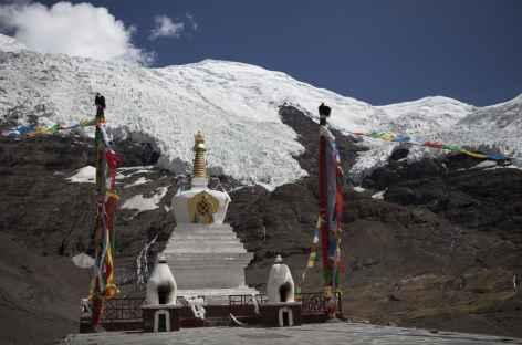Depuis le Karo La sous le Glacier- Tibet -
