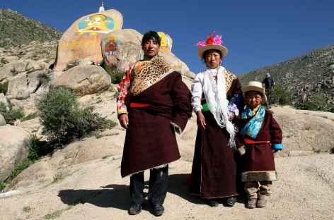 Famille tibétaine - Tibet -