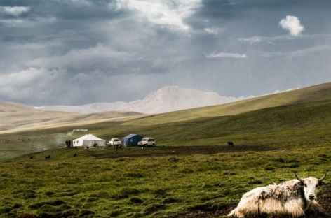 Paysage nomade, Kham - Tibet  -