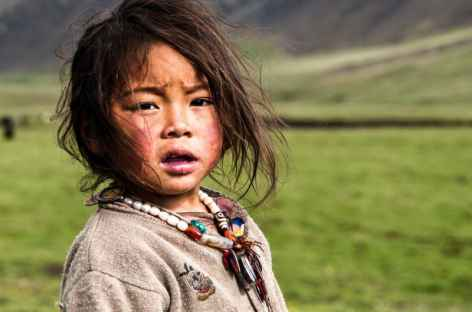 Jeune nomade, Kham - Tibet -