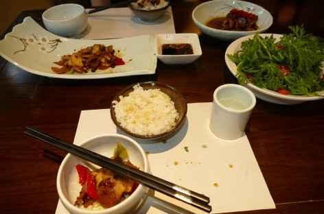 Repas à Chengdu -