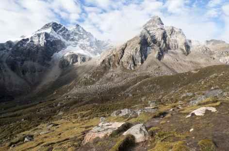 Descente du dernier col - Tibet -