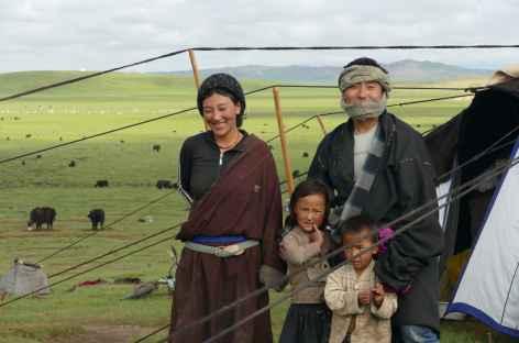 Famille nomade - Amdo -