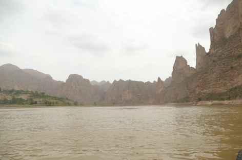 Fleuve Jaune près de Jampa Kumbum - Amdo -