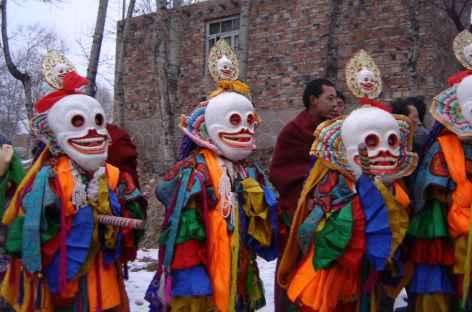 Danse des Seigneurs des Charniers, Amdo - Tibet -