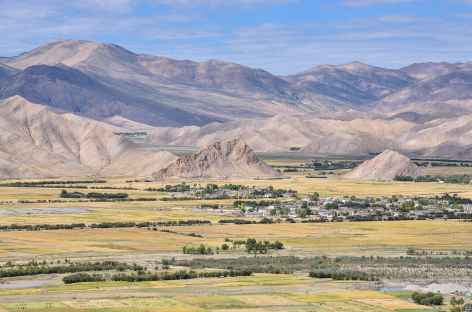 Plaine de Gyantse - Tibet -