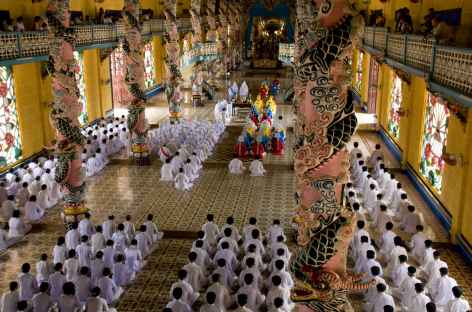 Temple cadoiste Vietnam -