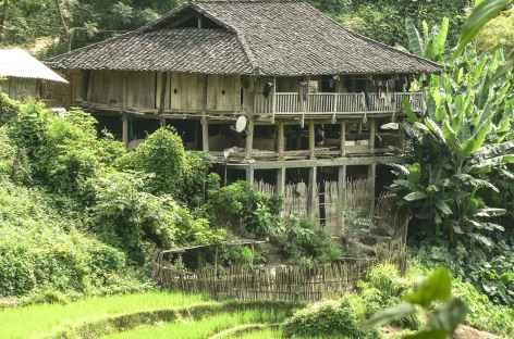 Habitat des Lolos - Vietnam -