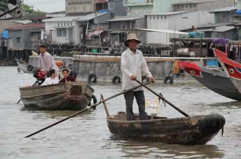 Ambiance sur le delta du Mékong - Vietnam -