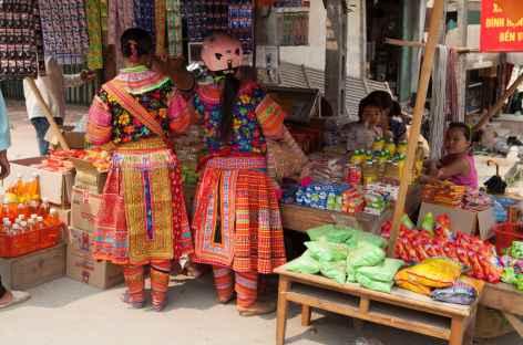Marché de Huang Su Phi - Vietnam -