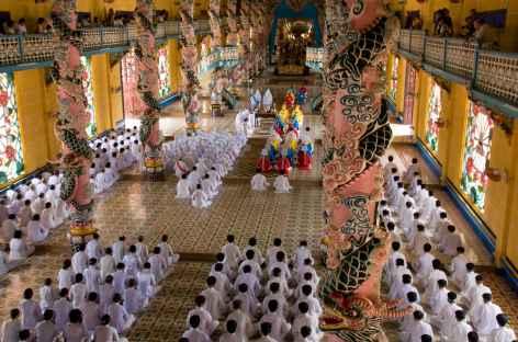 Temple cadoiste Sud Vietnam -