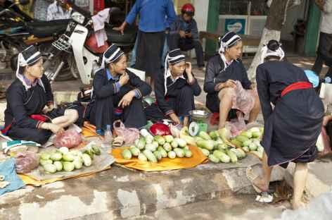 Marché de Hoang Su Phi -
