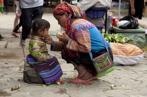 Marché de Bac Ha (Hmongs fleuris) -