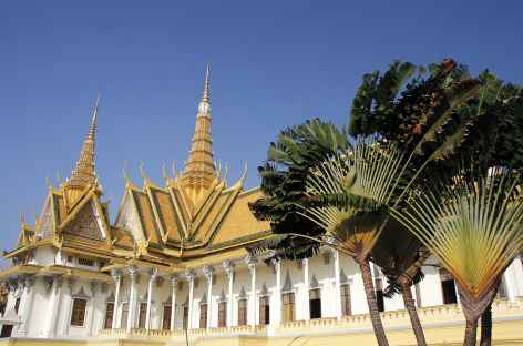 Palais royal de Phnom Penh - Cambodge -