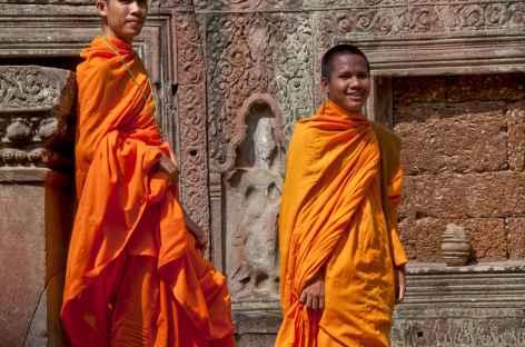 Moines Angkor - Cambodge -