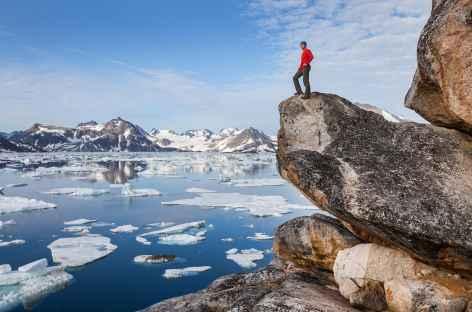 Rando sur l'île de Kulusuk - Groenland -